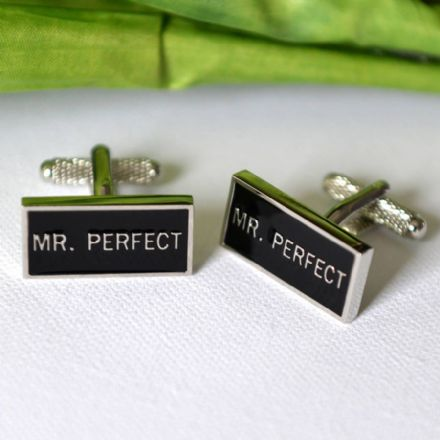 Mr Perfect Cufflinks